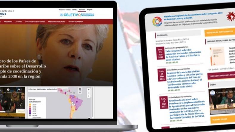 collage sitio web Foro ALC 2021