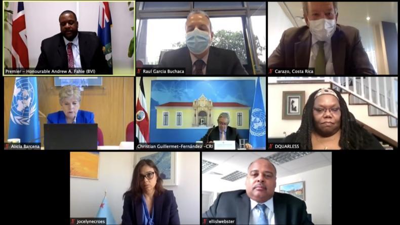 High level meeting of ECLAC's associate members