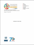 Summary of the Chair of the third meeting of the Forum of the Countries of Latin America and the Caribbean on Sustainable Development