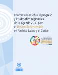 Portada Informe Anual sobre el progreso y los desafíos regionales 217