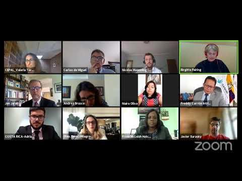 Embedded thumbnail for Enfoque de derechos y recuperación sostenible en A. Latina y Caribe - Evento paralelo Foro ALC 2021